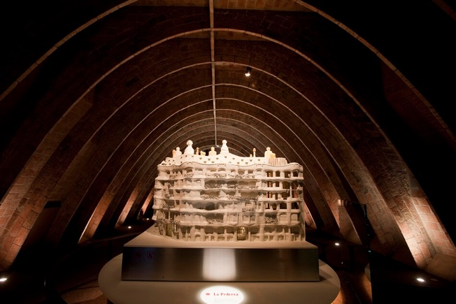 visit altre pedrera attics mock-up