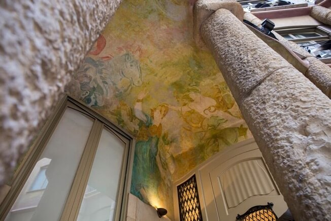 visit pedrera awakening courtyards paintings