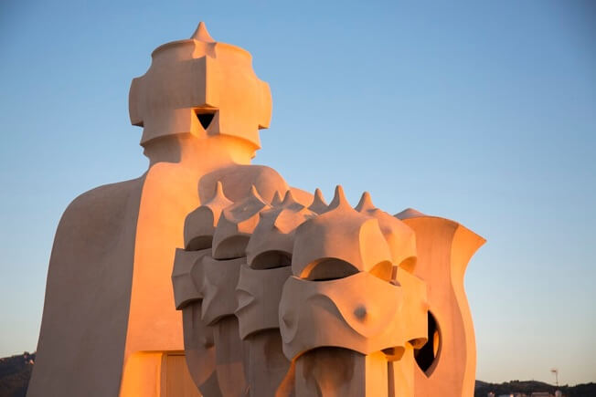 visit pedrera awakening roof warriors