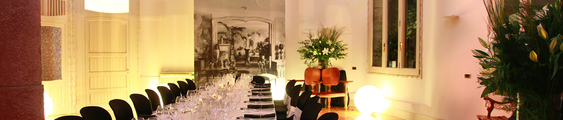 rooms pedrera events barcelona