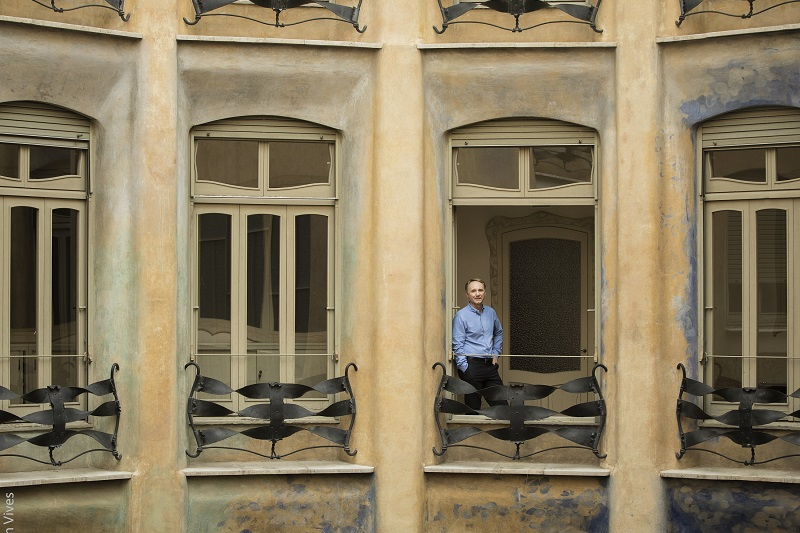 Dan Brown inspired by La Pedrera Casa Mila
