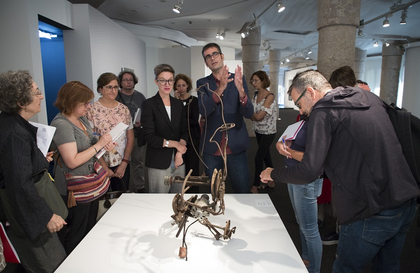 Exhibition Open Works at Casa Mila