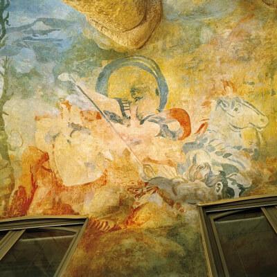 arquitectura pedrera patis pintura