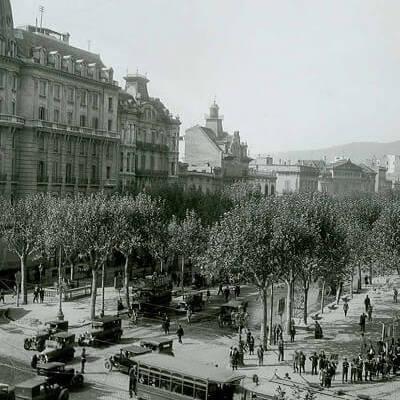 история Педрера Пасео Грасия Барселона
